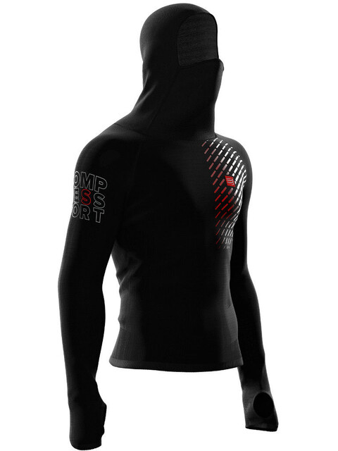 Compressport 3D Ultralight Racing Thermo Hoodie Men Black